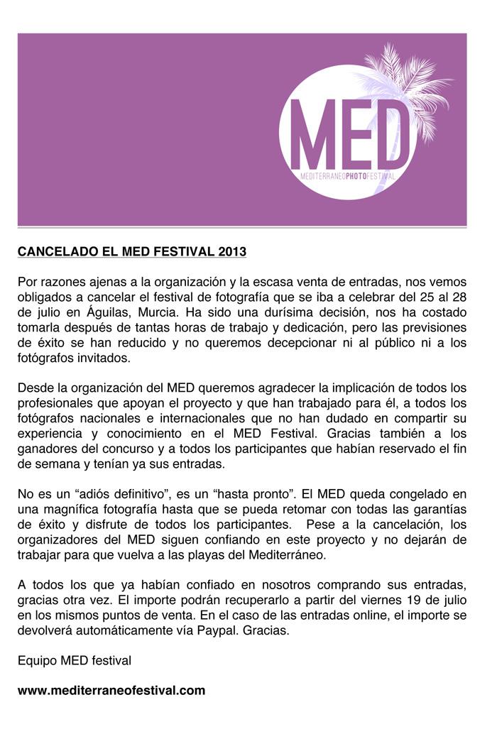 Cartel MED Festival